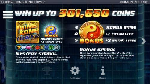 Hong Kong Tower review on Big Bonus Slots