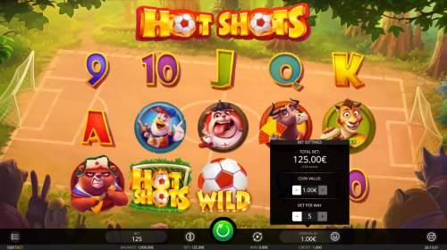 Hot Shots review on Big Bonus Slots