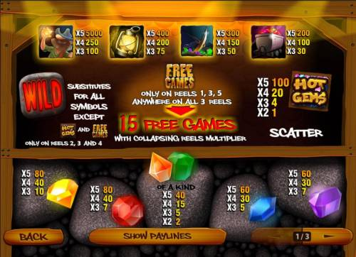 Hot Gems review on Big Bonus Slots