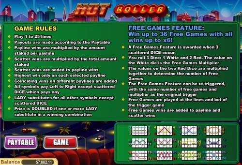 Hot Roller review on Big Bonus Slots
