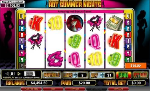 Hot Summer Nights review on Big Bonus Slots