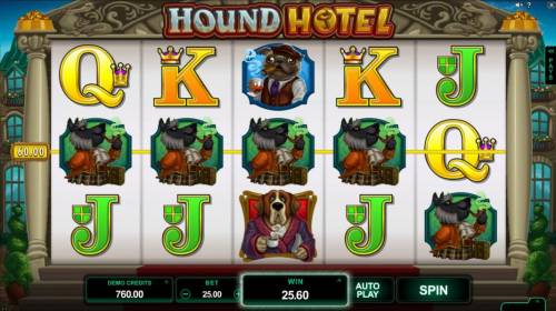 Hound Hotel review on Big Bonus Slots