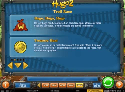 Hugo 2 Big Bonus Slots Hugo, Hugo, Hugo and Treasure Hunt Rules