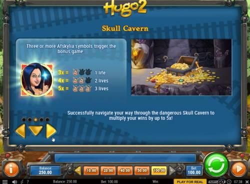 Hugo 2 Big Bonus Slots Skull Cavern Rules