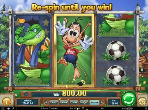 Hugo Goal review on Big Bonus Slots