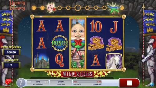 Humpty Dumpty Wild Riches review on Big Bonus Slots