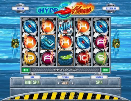 Hydro Heat review on Big Bonus Slots