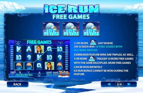 Ice Run review on Big Bonus Slots