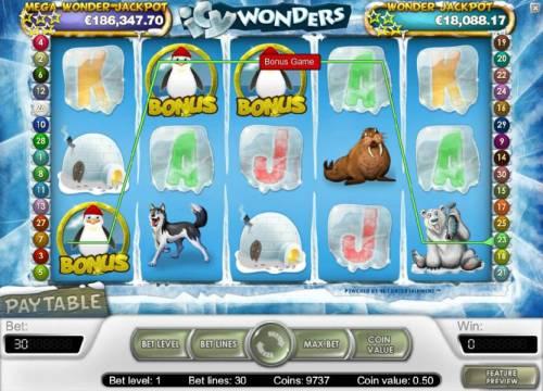 Icy Wonders review on Big Bonus Slots