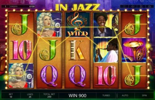 In Jazz review on Big Bonus Slots