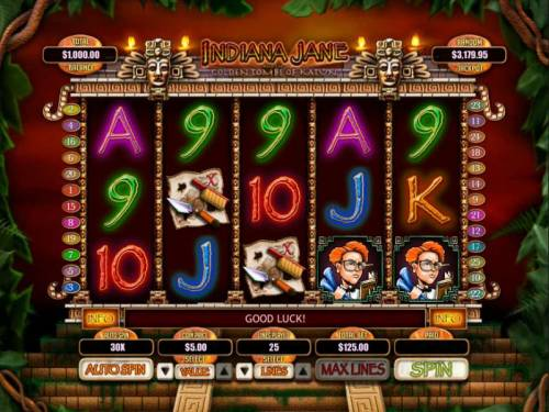 Indiana Jane and the Golden Toms of Katun review on Big Bonus Slots