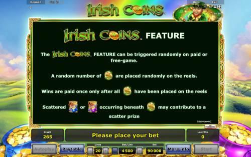 Irish Coins review on Big Bonus Slots