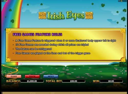 Irish Eyes review on Big Bonus Slots