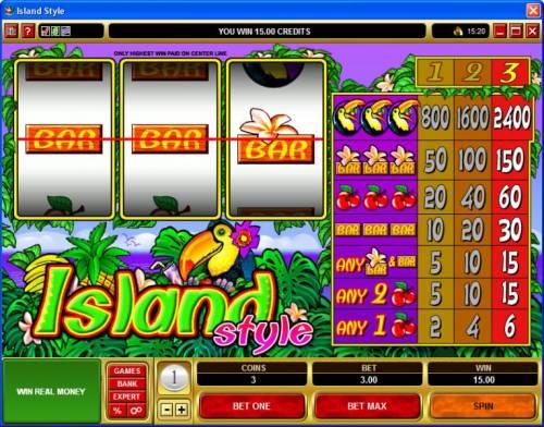 Island Style review on Big Bonus Slots