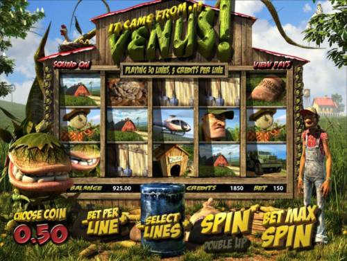 It Came From Venus review on Big Bonus Slots