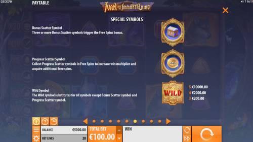 Ivan and the Immortal King review on Big Bonus Slots