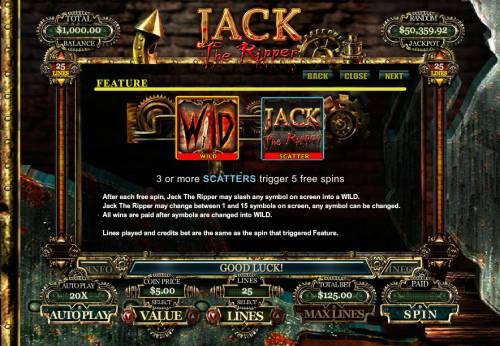 Jack the Ripper review on Big Bonus Slots