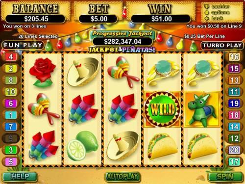 Jackpot Pinatas review on Big Bonus Slots