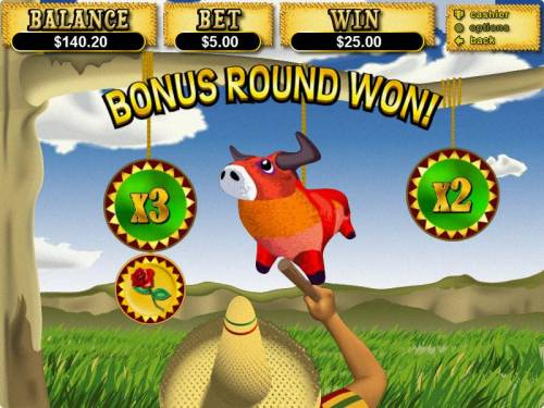 Jackpot Pinatas review on Big Bonus Slots