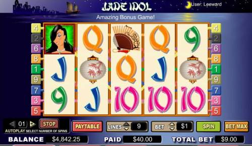 Jade Idol review on Big Bonus Slots