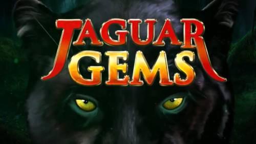 Jaguar Gems Big Bonus Slots Splash screen - game loading