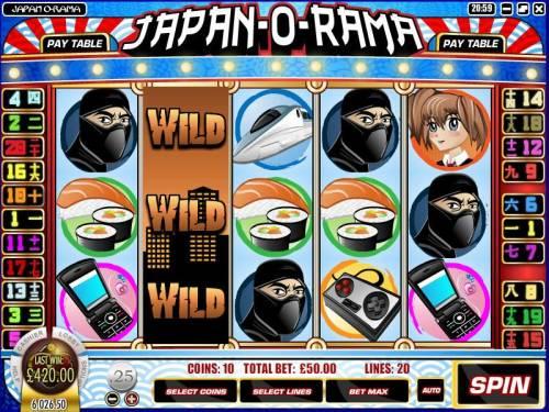 Japan-O-Rama review on Big Bonus Slots