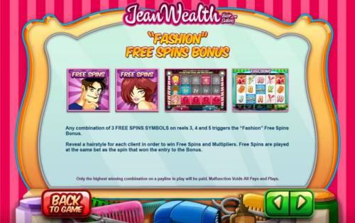 Jean Wealth review on Big Bonus Slots