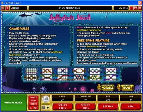 Jellyfish Jaunt review on Big Bonus Slots