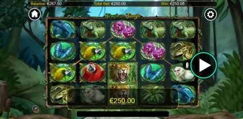 Jewel of the Jungle Big Bonus Slots Two of a Kind