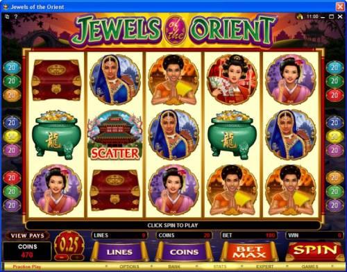Jewels of the Orient review on Big Bonus Slots