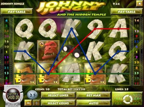 Johnny Jungle review on Big Bonus Slots