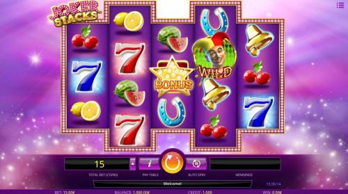 Joker Stacks review on Big Bonus Slots
