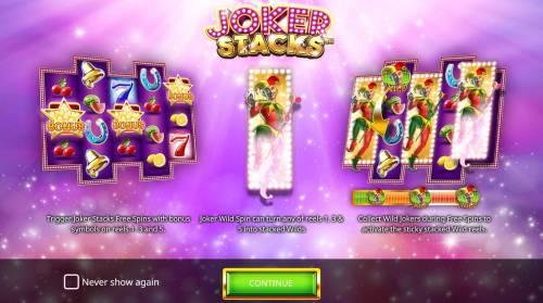 Joker Stacks review on Big Bonus Slots