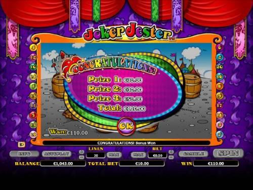 Joker Jester review on Big Bonus Slots