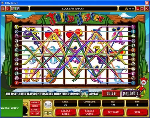Jolly Jester review on Big Bonus Slots