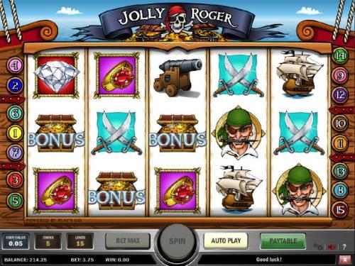 Jolly Roger review on Big Bonus Slots