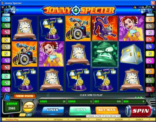 Jonny Specter review on Big Bonus Slots