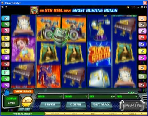 Jonny Specter review on Big Bonus Slots