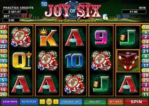 Joy of Six review on Big Bonus Slots