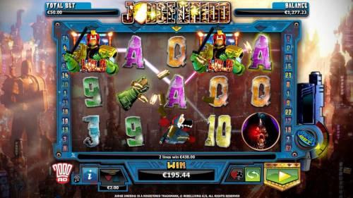Judge Dredd Big Bonus Slots Five of a kind