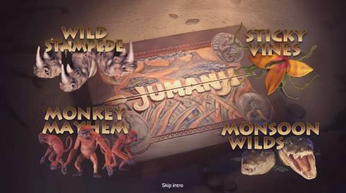 Jumanji Big Bonus Slots Introduction