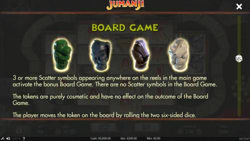 Jumanji Big Bonus Slots Bonus Game Rules