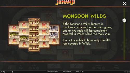 Jumanji Big Bonus Slots Monsoon Wilds
