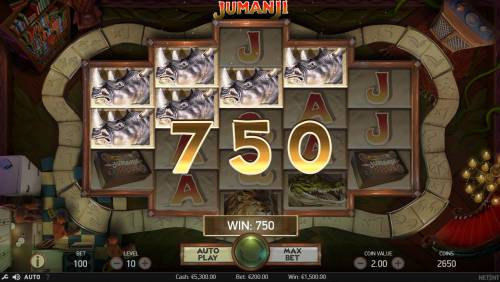 Jumanji Big Bonus Slots Multiple winning paylines