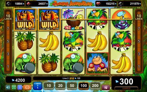 Jungle Adventure review on Big Bonus Slots