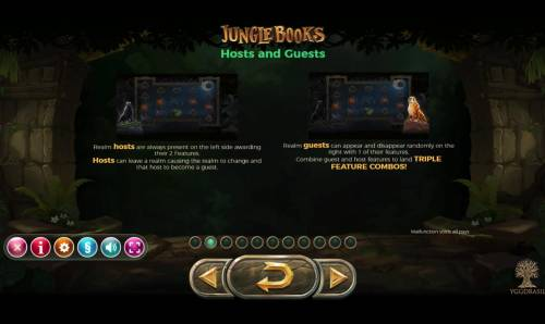 Jungle Books review on Big Bonus Slots