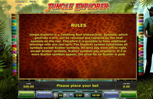Jungle Explorer review on Big Bonus Slots