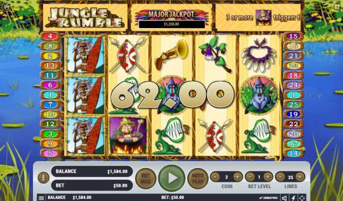 Jungle Rumble review on Big Bonus Slots