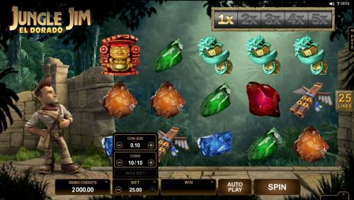 Jungle Jim El Dorado review on Big Bonus Slots