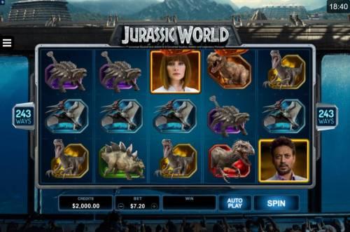 Jurassic World review on Big Bonus Slots